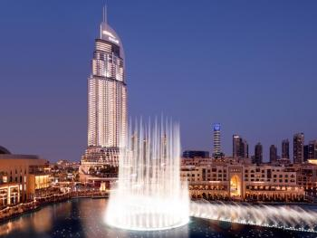 THE ADDRESS DOWN TOWN DUBAI 5 *